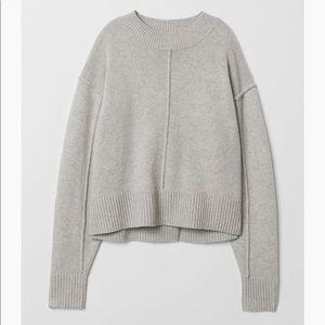H&M Premium Wool Grey Sweater